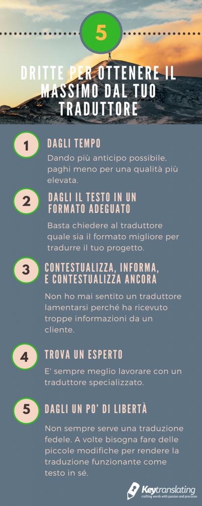 5 consigli per lavorare con un traduttore